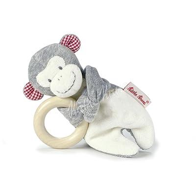 Käthe Kruse 74470Monkey Carlo Grey Grasping Toy Wooden : Baby