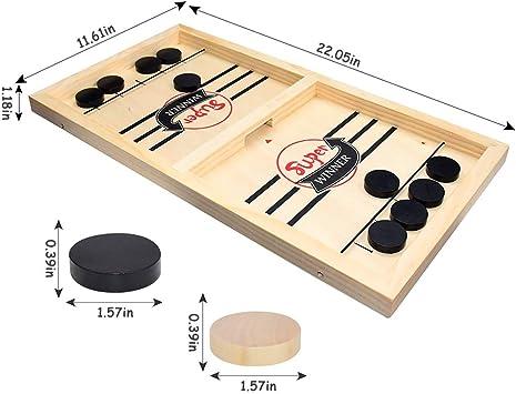 Schneller Sling Puck Spiel Gewinner Brettspiele Spielzeug Party Familie Interakt