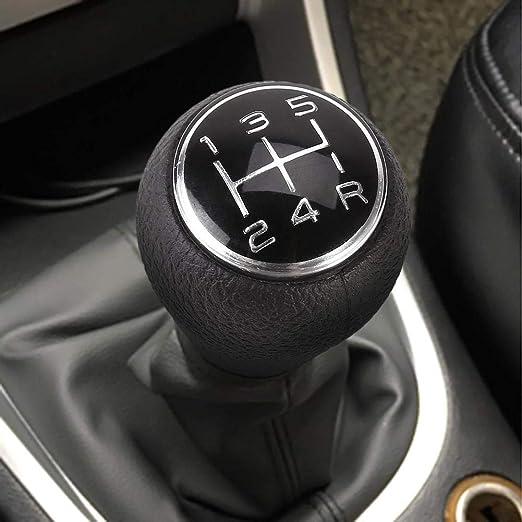 Happt 5 Gang Schaltknauf Für Citroen C1 C3 C4 Für Peugeot 205 206 106 107 207 306 307 308 309 405 406 407 508 605 607 806 807 Chrom Auto