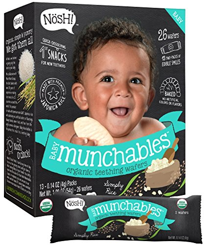 Nosh Baby Munchables Simply Rice, 1.9 Ounce