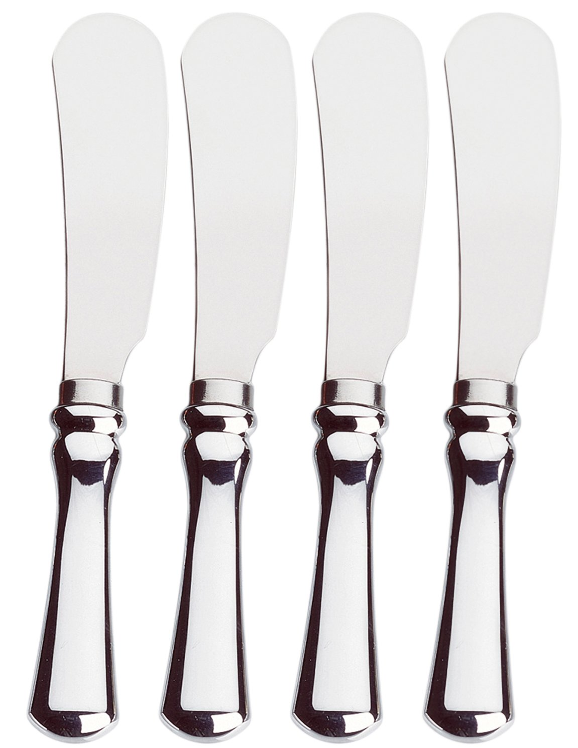 Amco Classic Spreaders, Stainless Steel Blades, Set of 4 by Amco 8452