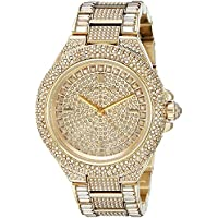 Michael Kors Gold-Tone Crystal Women's Watch