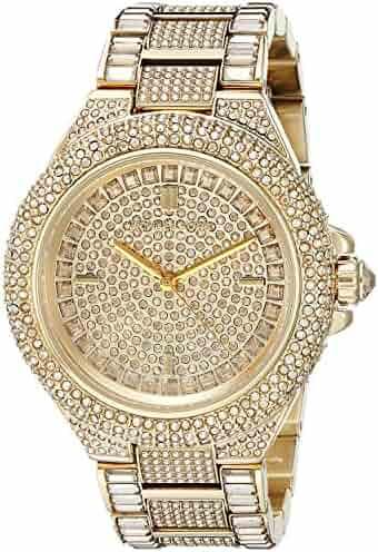 Michael Kors Women's Camille Gold-Tone Watch MK5720