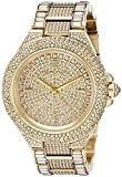 Image of Michael Kors Women's Camille Gold-Tone Watch MK5720