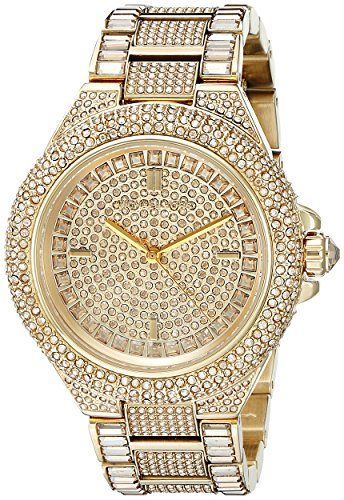 camille gold tone watch mk5720