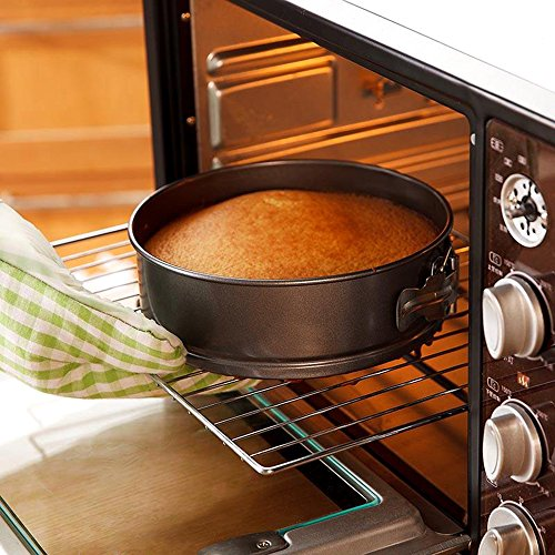 Springform Cake Pan 7 Inch for Instant Pot 6Qt 8Qt Non-stick Round Cheesecake pan Black by Lufeiya (Image #8)