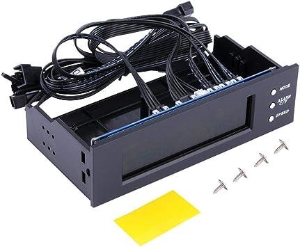 Panel LCD CPU Controlador de Velocidad del Ventilador Pantalla ...