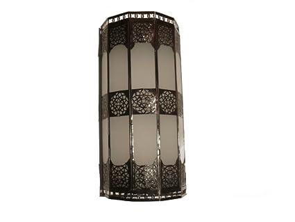 Fer Orientale En Verre Applique Arabe Murale Forgé Lampe Décoration uKJc1TlF3