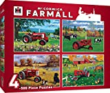 MasterPieces Farmall 4-Pack 500 Piece Jigsaw Puzzles by Greg Giordano