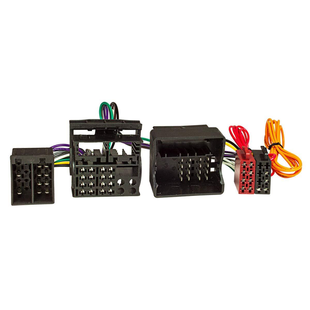 para Mercedes para manos libres con conector ISO T Audio 20//30 /001/cable ISO adaptador de derivaci/ón tomzz Audio SE-7334/ por ejemplo Parrot, THB, Funkwerk Dabendorf
