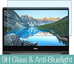 """Synvy Anti Blue Light Tempered Glass Screen Protector for Dell Inspiron 15 7000 (7591) 2 in 1 15.6"""" Visible Area 9H Protective Screen Film Protectors"""