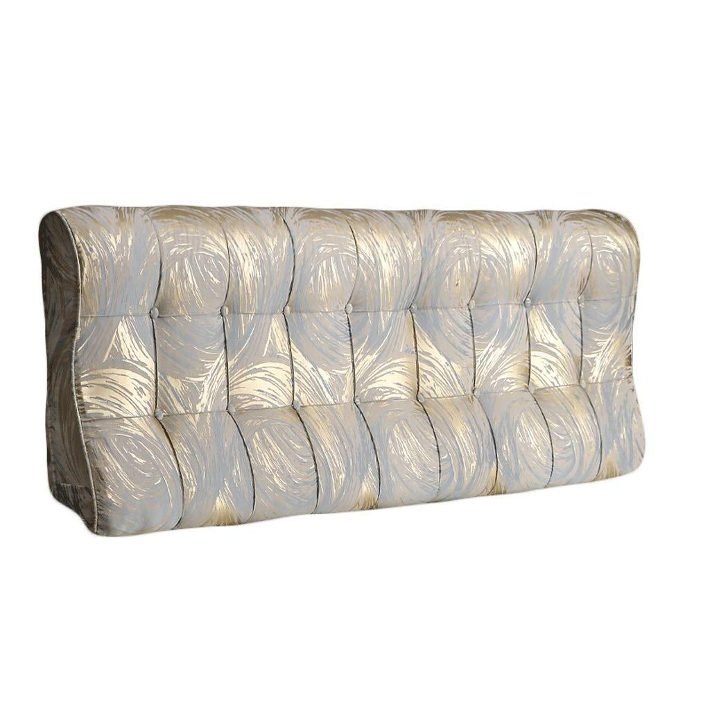 【人気急上昇】 ベッドサイド 湾曲ベッド背もたれクッションヘッドボード腰椎パッド布張り枕ソフトカバーベッドサイドソファーダブルリムーバブル洗える、3色、6サイズ サイズ (色 : ベージュ, さいず サイズ さいず : : 180cm) B07RBTTZDF 120cm|青 青 120cm, 神棚神祭具 宮忠:fbecd5f4 --- kqcrowns.net