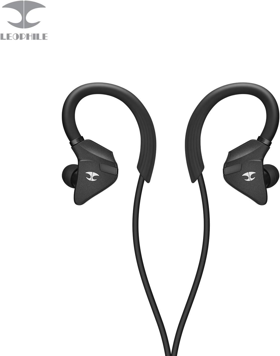 LEOPHILE Impulse Cuffie Bluetooth Sport, IPX5 Impermeabili