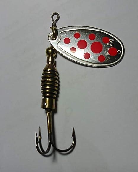 Rublex Celta OPR medida 3 de 5 gramos plata con puntos rojos ...