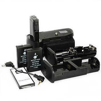DSTE® Remoto Vertical Batería Apretón Titular para Nikon D5100 ...