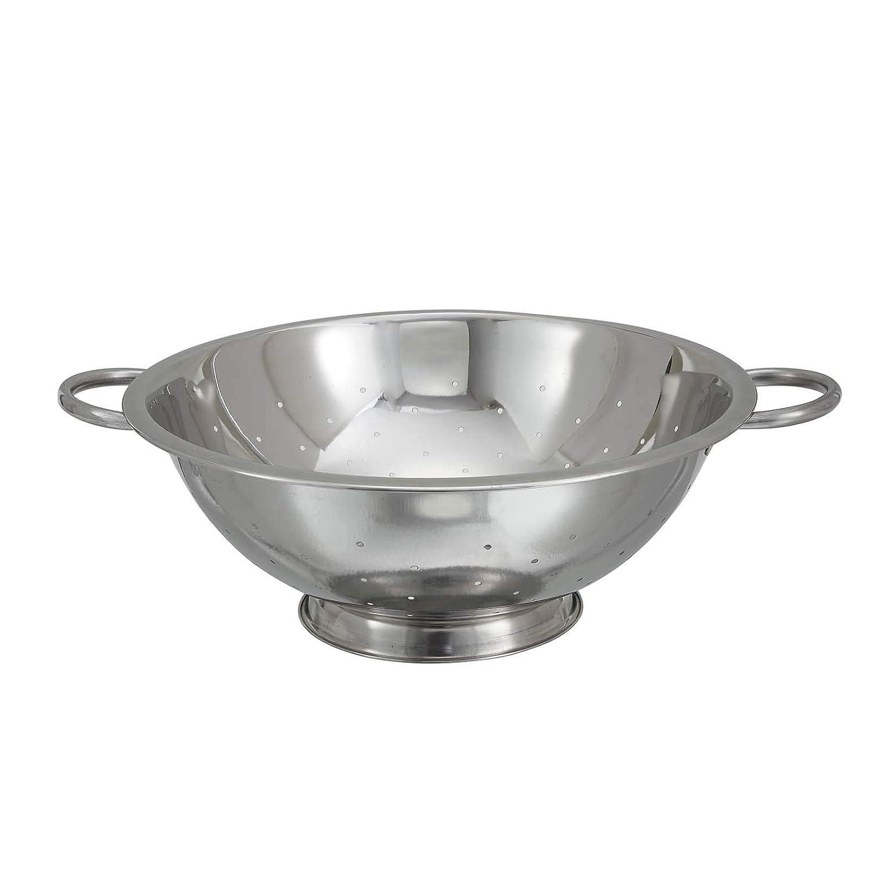Amazon.com: winco cod-8 Colador de acero inoxidable con base ...