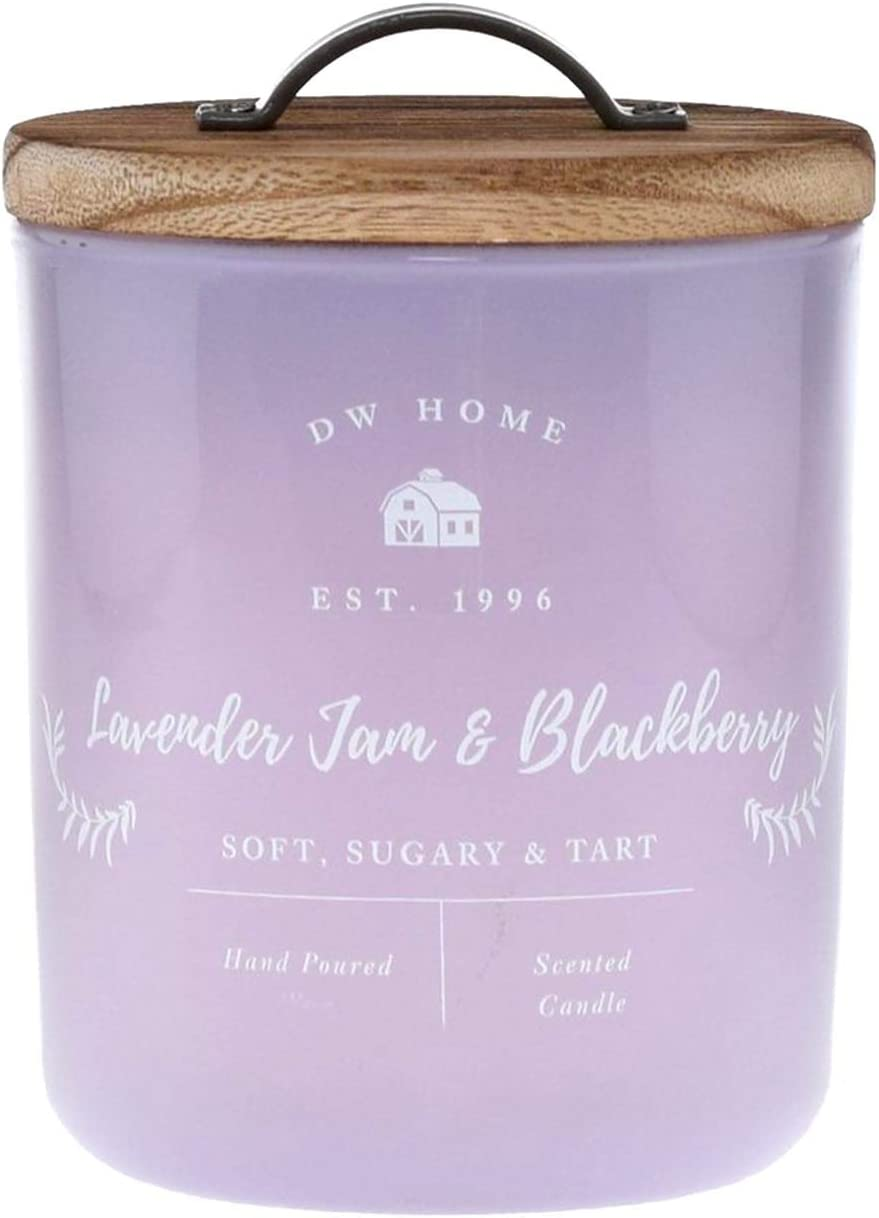 DW Home Lavender Jam and BlackBerry Large 2 Wick Candle