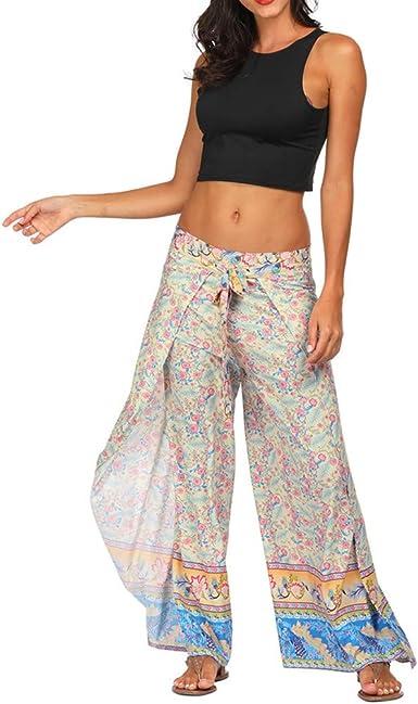 Darringls Pantalones Yoga Mujeres, Pantalones Bombacho Mujer Yoga ...