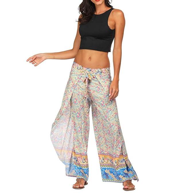 Darringls Pantalones Yoga Mujeres, Pantalones Bombacho Mujer ...