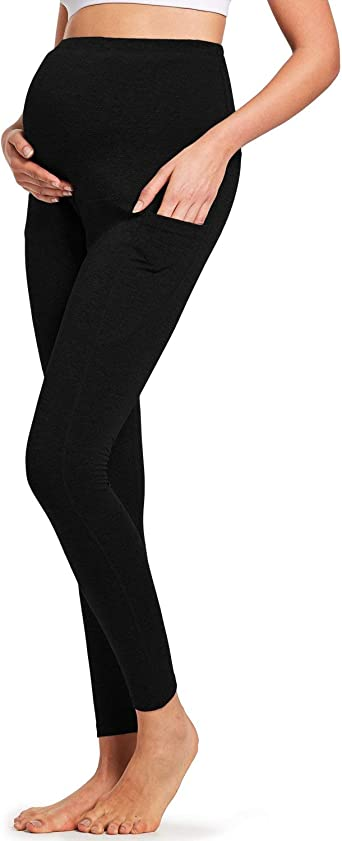 Women's Maternity Leggings with Pockets
