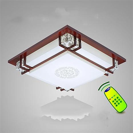 Wmshpeds Lámpara de techo LED, el chino moderno, Cuadrado ...
