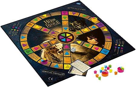 Winning Moves El Señor de los Anillos Búsqueda Trivial Edición de coleccionista Preguntas 1800 Preguntas 2-6 Jugadores