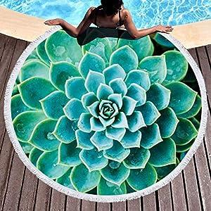 laamei Toalla de Playa Redonda Grande Círculo Tapiz Mandala, Toalla Colgante Hippie Indio Meditación Redonda Estera De… | DeHippies.com