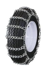 Grizzlar GTU-232 Garden Tractor Snowblower 2 Link Ladder Alloy Tire Chains 14x4.00-6 14x5.00-6 14x5.30-6 14x5.50-5 15x5.00-6