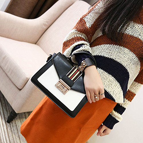Black Shopping Bags Bags Leather Women Bags Shoulder Clutch Multifunction Bags Shoulder Handbag Women Fashion Messenger Bags wR66qH