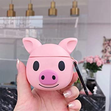 Amazon Com Lupct Q Pink Pig Compatible With Airpods Pro Airpods 3