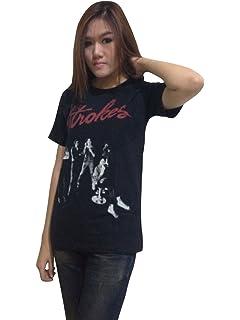 b2ccf92f Amazon.com: BUNNY BRAND Women's The Strokes Group Photo Music Band ...
