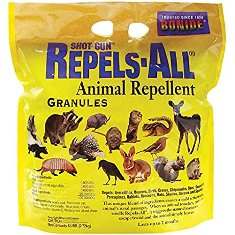 Bonide Chemical Number 6 Repels All Granules 6 Pounds