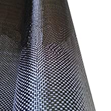 1m*1m 6K Carbon Fiber Cloth Fabric 320GSM Plain Weave100%real Carbon Cloth