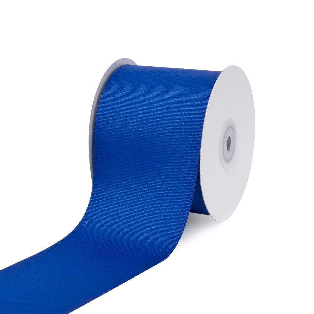 Creative Ideas 3 Solid Grosgrain Ribbon, 25 yd, Royal Blue GRO3000-350