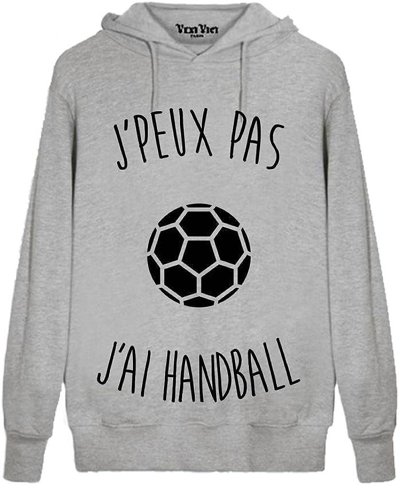 LookMyKase T-Shirt J Peux Pas j AI Handball B/éb/é Gar/çon