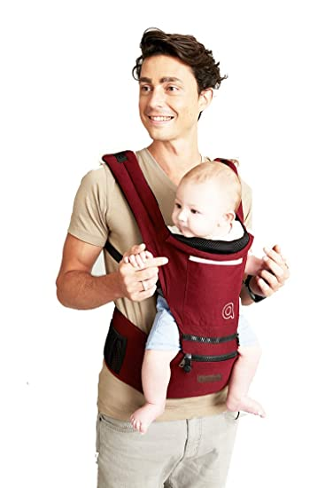 ca7c4ca95ff Amazon.com   Vedar Baby Carrier All Season Baby Sling 4 Position Easy  Breastfeeding No Infant Insert Needed One Size Fits All Adapt to Newborn  Infant ...