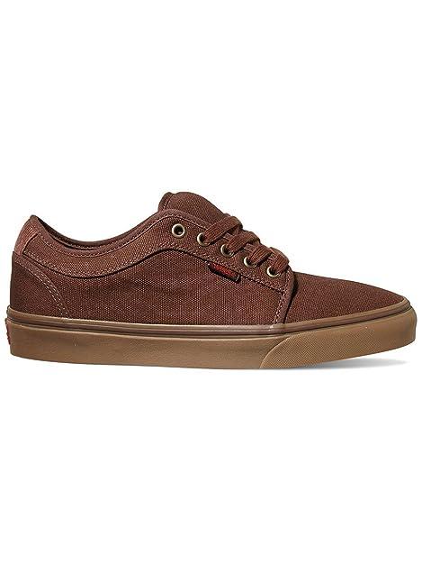 576b5503dc Vans Chukka Low Sneakers (Buffalo Plaid) Brown Gum Mens 8.5  Amazon.ca   Shoes   Handbags