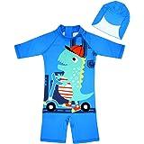 Amazon.com: Little Boy - Bañador de una pieza para niños ...