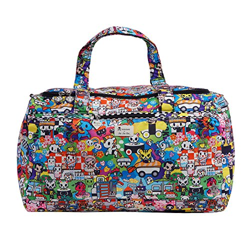 JuJuBe Super Star Oversized Weekender Travel Duffle Bag, Tokidoki Collection - Sushi ()