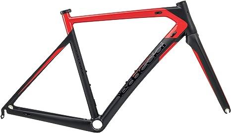 Dedacciai Strada Vertigine - Marco para Bicicleta de Carretera (Talla XL), Color Negro y Rojo: Amazon.es: Deportes y aire libre