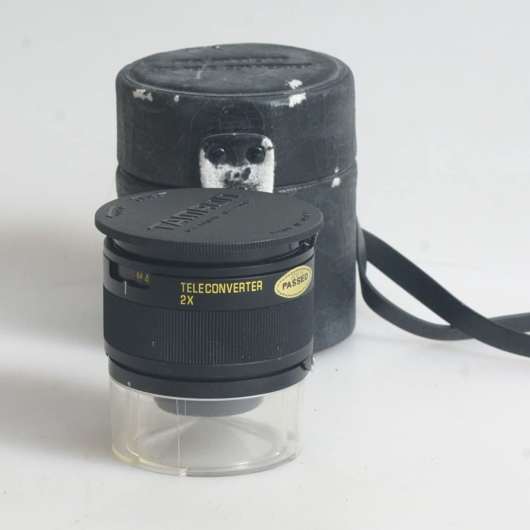 2X Extender TAMRON ADAPTALL Front and Rear Cap with CASE
