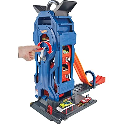 Hot Wheels Mega Garage Playset: Toys & Games