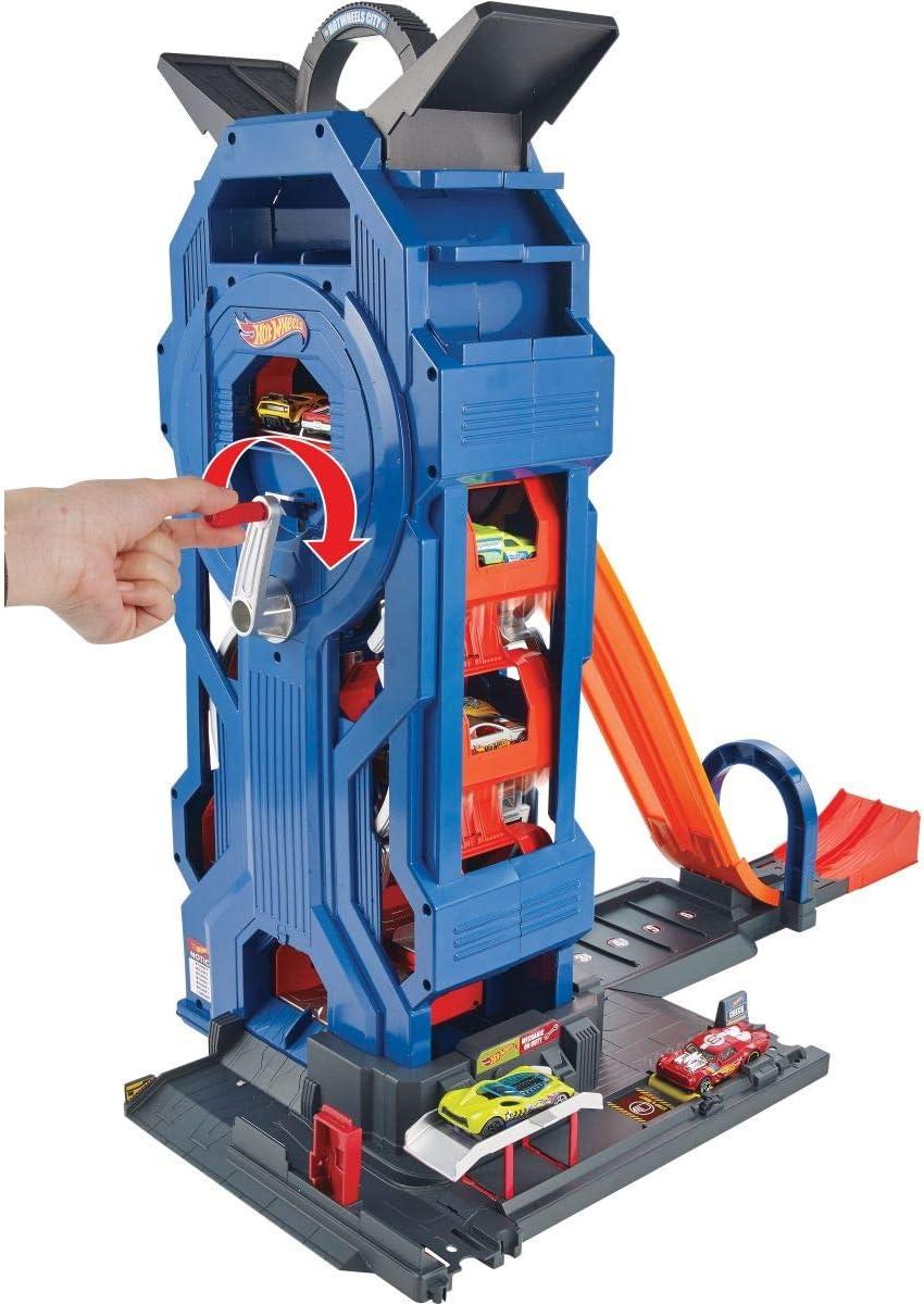 Hot Wheels Supergaraje, Garaje para Coches de Juguete, multicolor Mattel GWT34 , color/modelo surtido