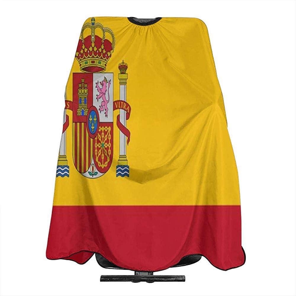Capa De Corte De Pelo Bandera De España Corte De Pelo Capa ...