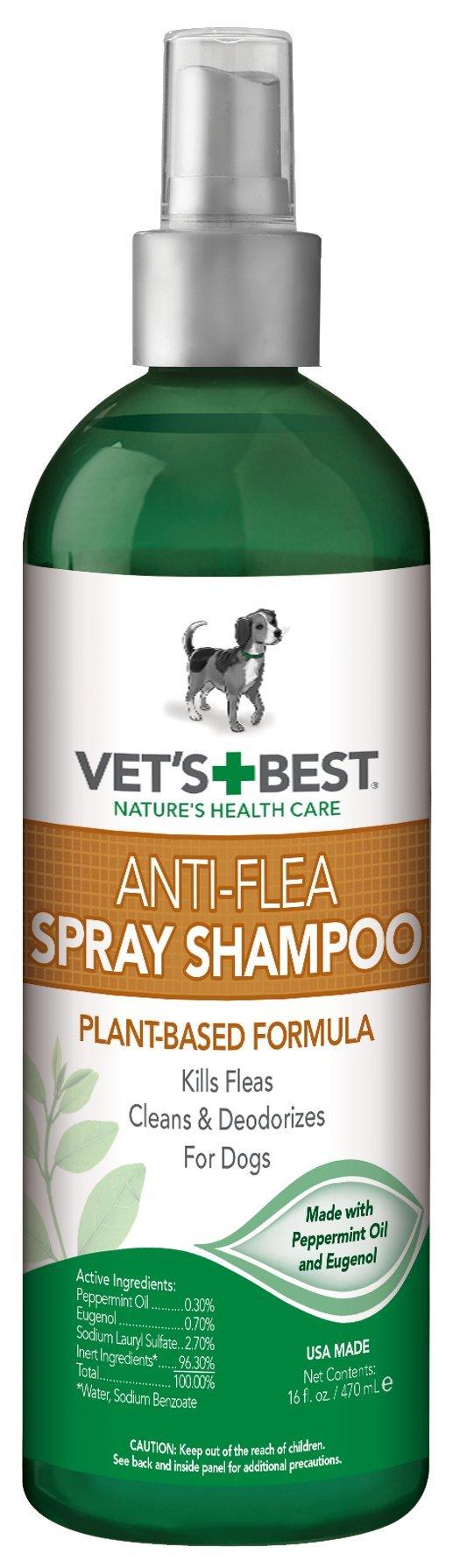 Anti-Flea Easy Spray Flea Shampoo for Pets
