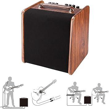 QING.MUSIC Musical Instrument accessories Amplificador de Sonido ...