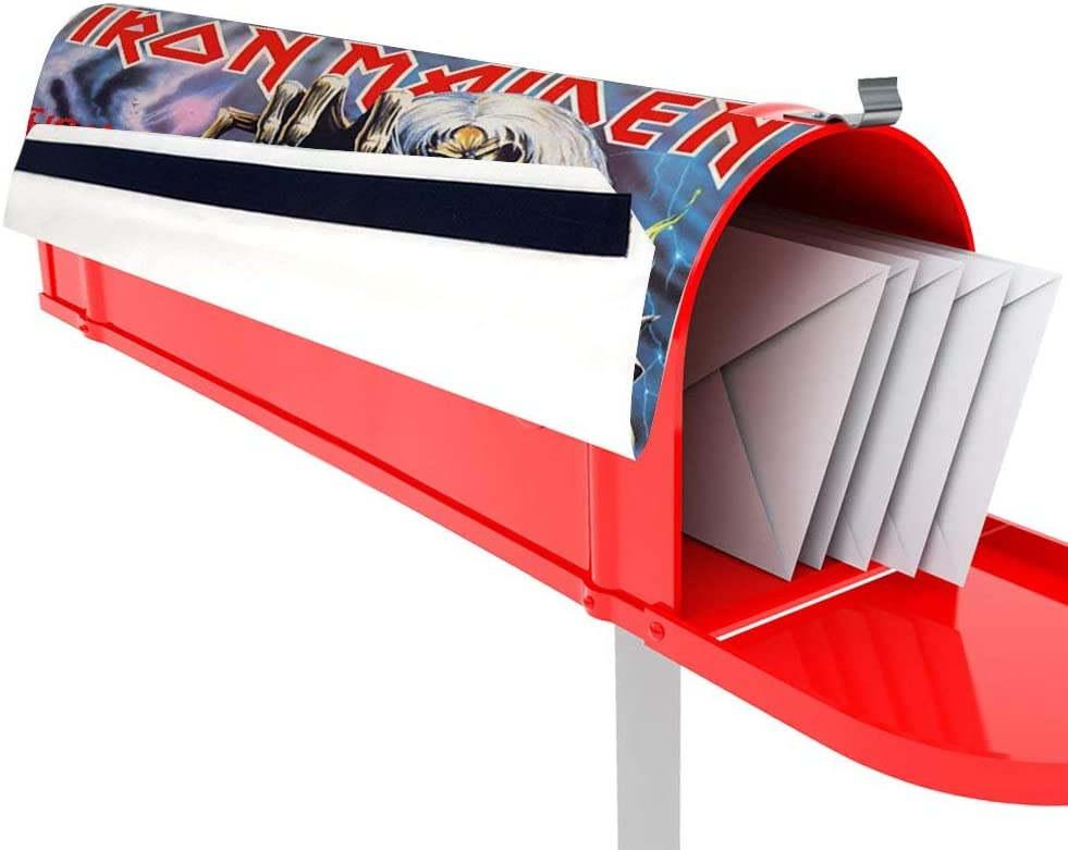 Iron Maiden Mailbox Covers Magnetic Home Houses Letter Box Cover Decorations,Mailbox Decor Available in 3 Sizes