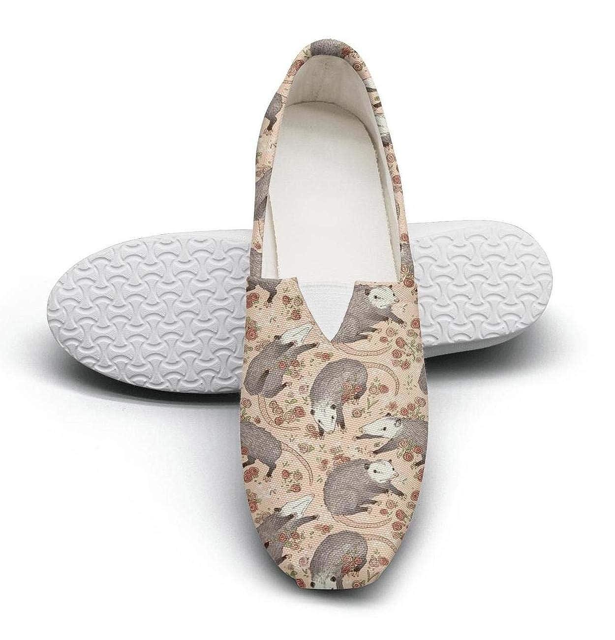 nkfbx Opossum Fashion Slip-On Sneakers for Girls Exercise