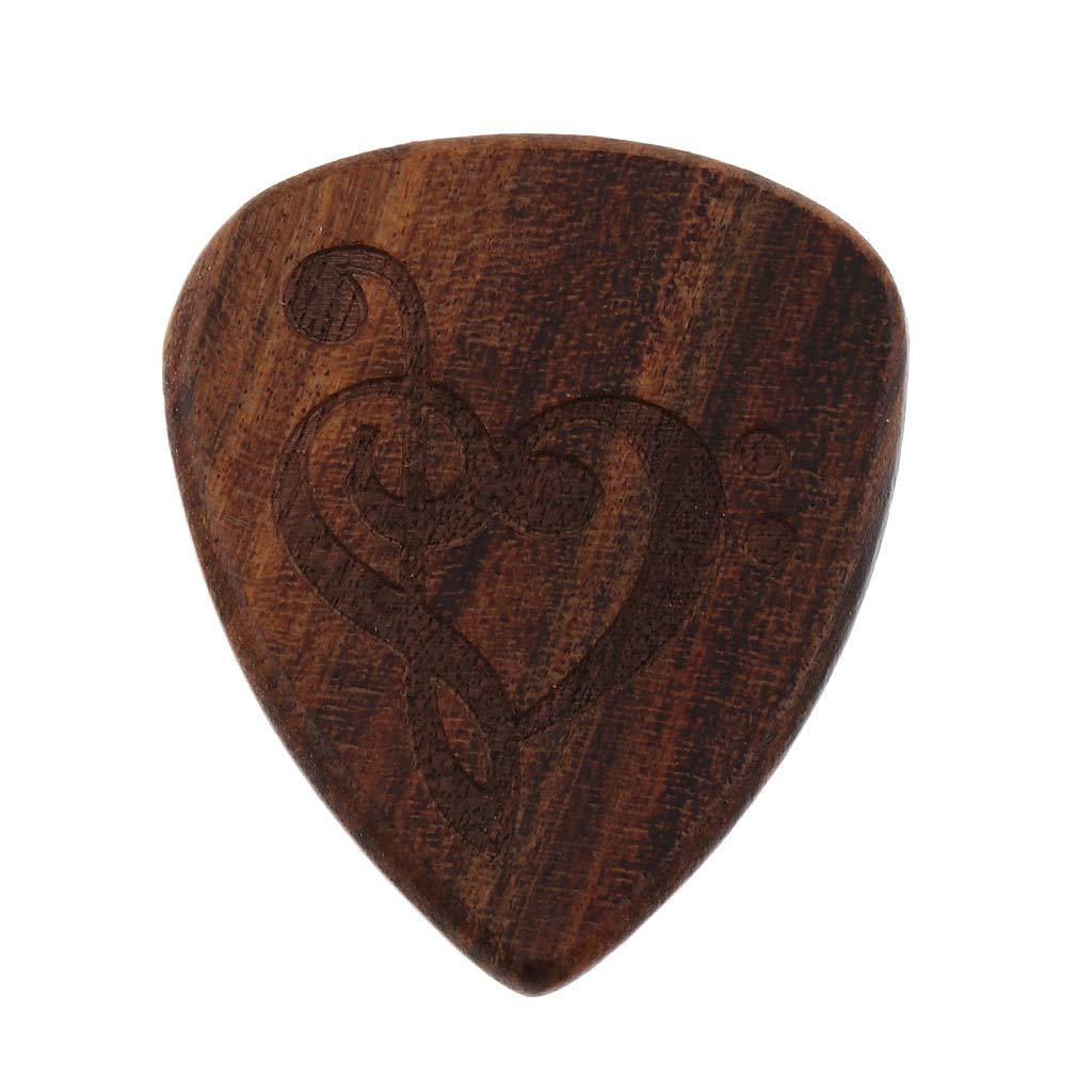 B Blesiya M/édiator En Bois Pour Guitare Acoustique En bois G