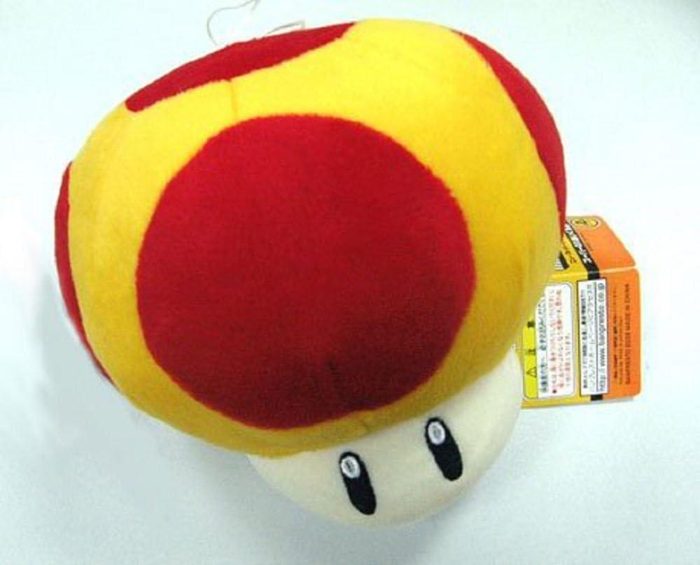Amazon Com Nintendo Super Mario Bros Mushroom 8 Plush Doll